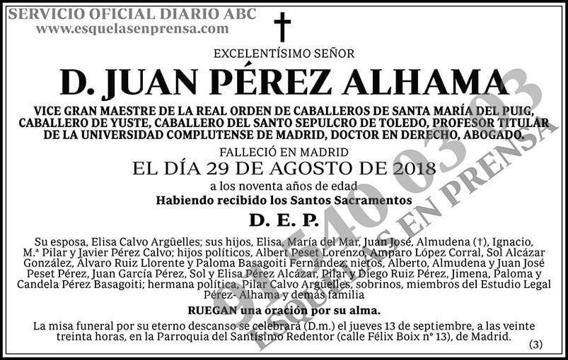 Juan Pérez Alhama